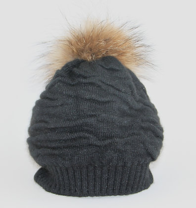 Natures Collection Fur Beanie