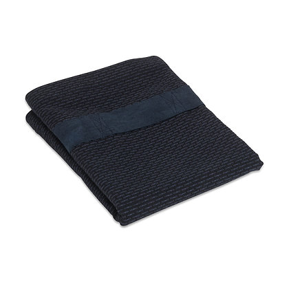 The Organic Company Hand Hair Towel Dark Blue