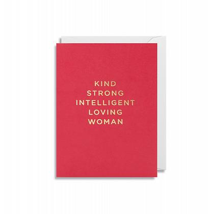 Minicards by Kelly Hyatt Kind Strong Woman