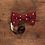 Thumbnail: Knit Ties Rock rote Polka Bow