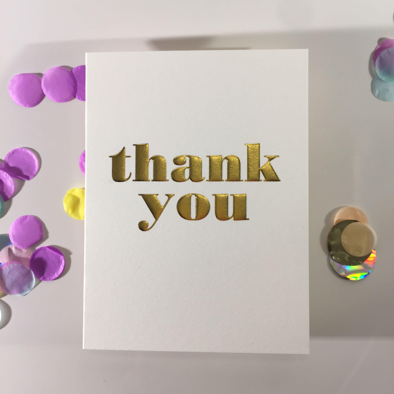 Minicard thankx you