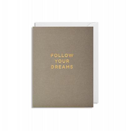 Minicards by Kelly Hyatt Follow Your Dreams