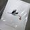 Thumbnail: Fleur de Fleur Printkarte Baby Storch