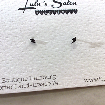 Lulu´s Salon dark Bolt Mini Ohrstecker