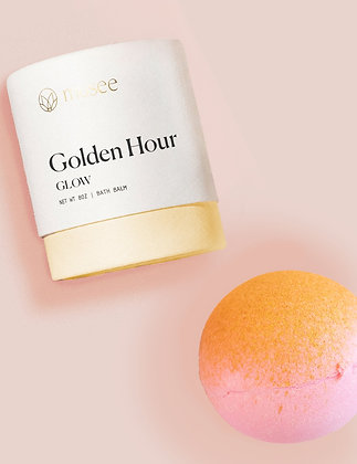 Musee Bath Golden Hour Glow Bomb