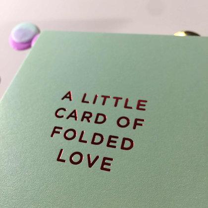 Minicards by Kelly Hyatt Folded Love