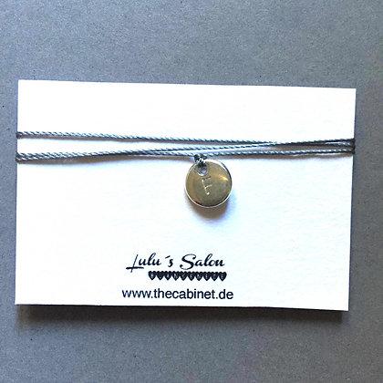 Lulu´s Salon Initial Wrap Armband F silber
