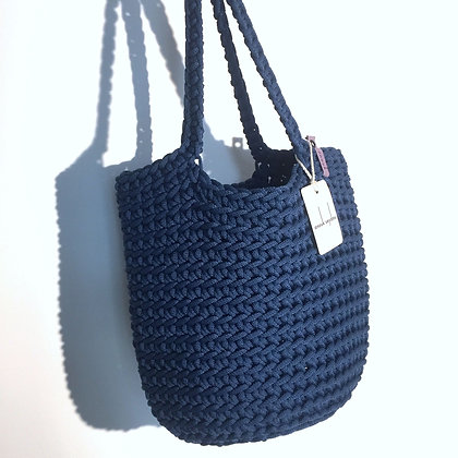 Anouk Seydou Long Tote-bag Denim Blue
