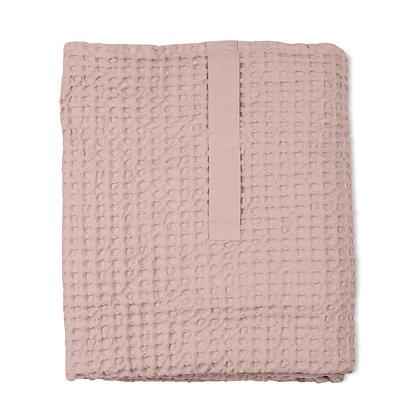 The Organic Company XL Handtuch aus Waffel Piqué powder pink