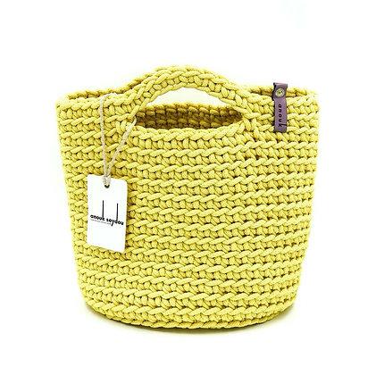 Anouk Seydou Short Tote-bag Mellow Yellow