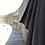 Thumbnail: The Organic Company XL Handtuch aus Waffel Piqué dark grey