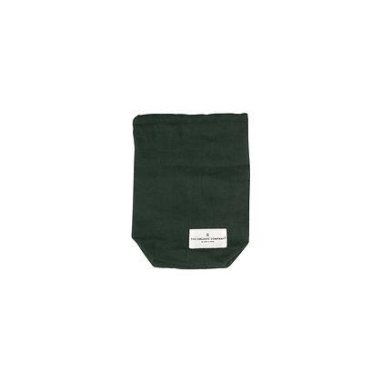 The Organic Company Food Bag Small Dark Green