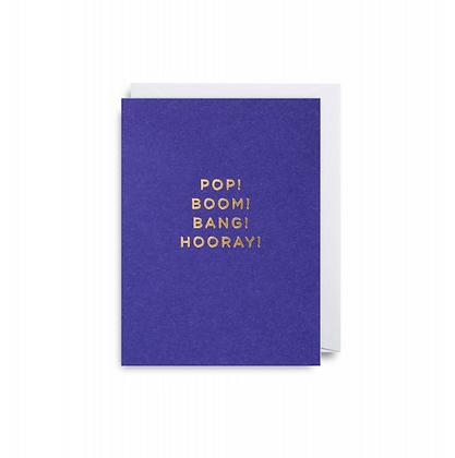 Minicards by Kelly Hyatt Pop Boom Bang Hooray