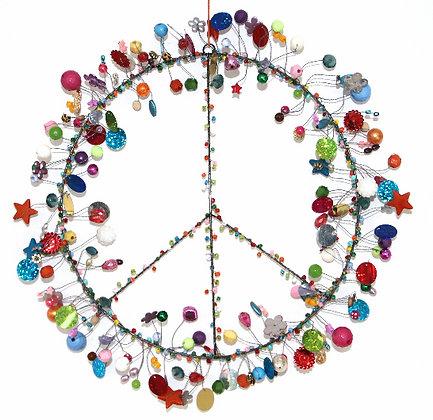 Funkel Multicolor Peace Kranz