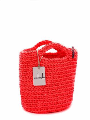 Anouk Seydou Short Tote-bag Neon Pink