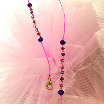Merci Cheri Pink Night Maskenkette by Lulu´s Salon