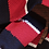 Thumbnail: Knit Ties Rock rot blaue Streifen Tie