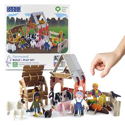 Play Press Toys Farm Set