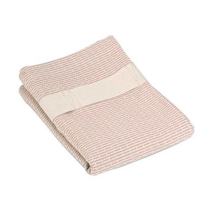The Organic Company Hand Hair Towel Stone Rosé