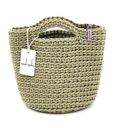 Anouk Seydou Short Tote-bag Olive