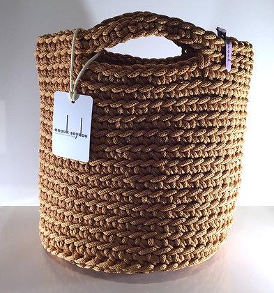 Anouk Seydou Short Tote-bag Peanut