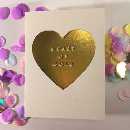 Minicards by Kelly Hyatt Heart of Gold