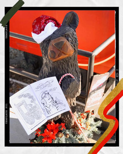 Elbearta the Bear for the holidays!