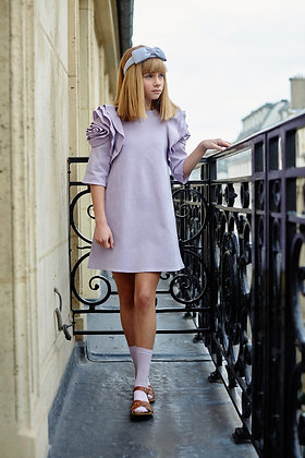 Airfish Rosa Dress (Lavender)
