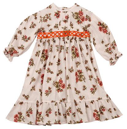 Frou Frou Florence Dress (Rose Allover)