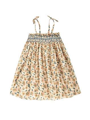 Louise Misha Marceline Dress (Cream Flowers)