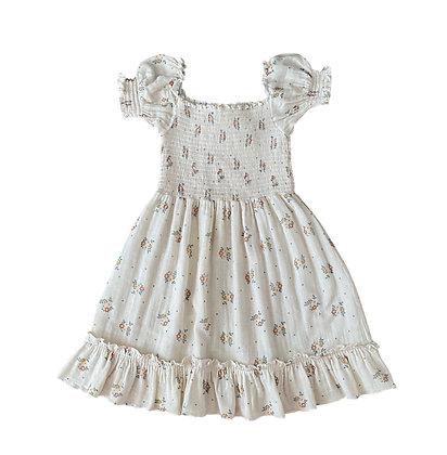 Liilu Tilda Smocked Dress (Summer Blossom)