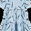 Thumbnail: Beau Loves Tiered Dress (Sky Bule/Rock, Paper, Scissors)