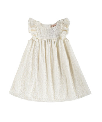 Louise Misha Janice Dress (Cream Lace)