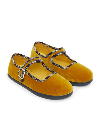 Bonton/Bonbon Plain Slippers (Mustard)