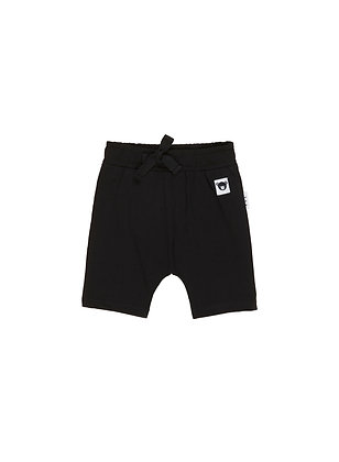 Huxbaby Black Shorts (Black)