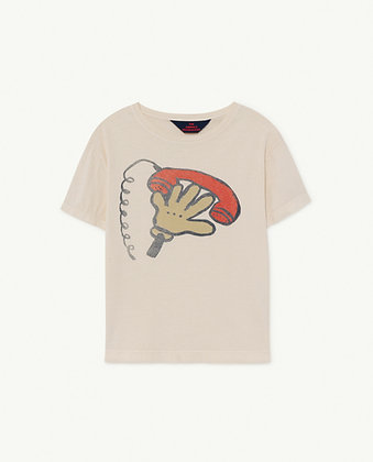 The Animals Observatory Rooster Kids T-Shirt (White Telephone)
