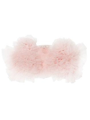 Tutu Du Monde Flowerette Ruffle Shrug (Porcelain Pink)