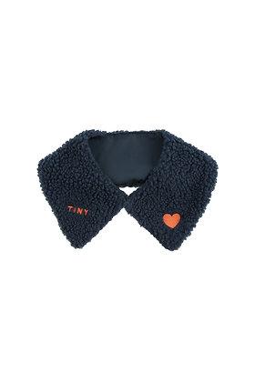 Tiny Cottons 'Tiny' Sherpa Collar (Navy)