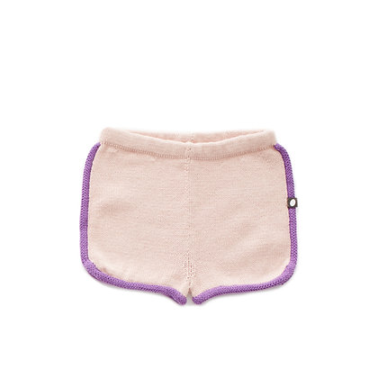 Oeuf 70's Shorts (Coral Almond/Dewberry)