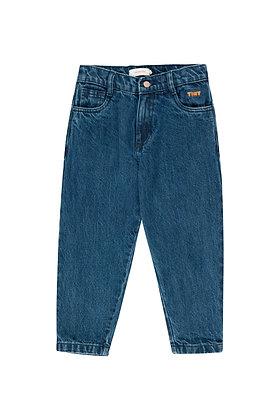Tiny Cottons Baggy Denim Pant (Denim)