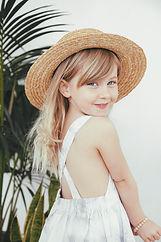 Girl wearing a Little Urban Apparel dress