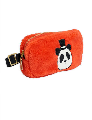 Mini Rodini Faux Fur Bum Bag (Red)