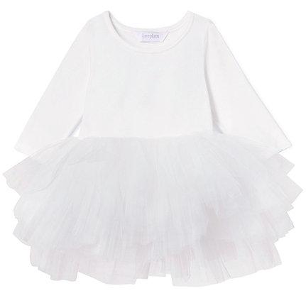 Plum O.M.G. Tutu Dress (Lucy White)