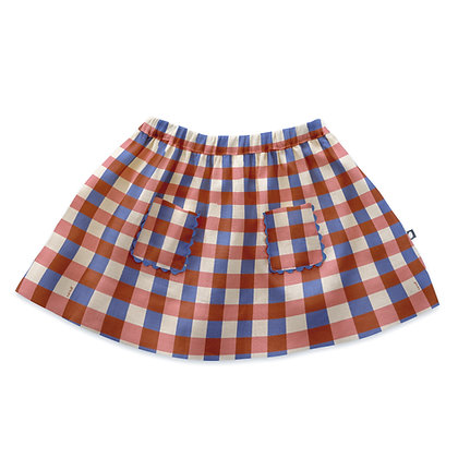 Oeuf Skirt (Flamingo Pink)