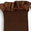 Thumbnail: Collégien Liberty Ruffle Knee-High Socks (No. 786 Chocolat au lait)