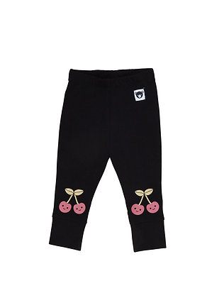 Huxbaby Unicorn Cherry Knee Legging (Black)