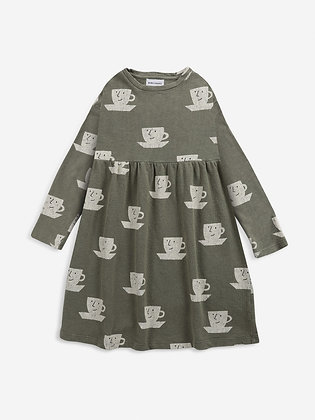 Bobo Choses Cup Of Tea All Over Jersey Dress