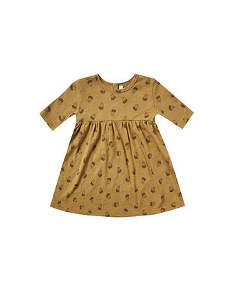 Rylee + Cru Acorn Finn Dress (Goldenrod)