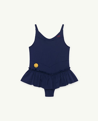 The Animals Observatory Clownfish Kids Swimsuit (Navy Blue TAO)