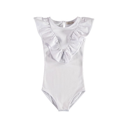 CARBON SOLDIER ELIZABETH II LEOTARD (WHITE)